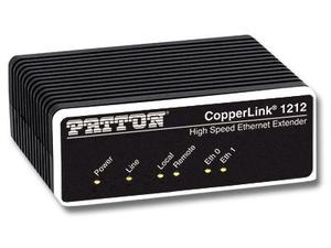 Patton CL1212/EUI-2PK High Speed CopperLink Ethernet Extender (Local and Remote) Kit/RJ45