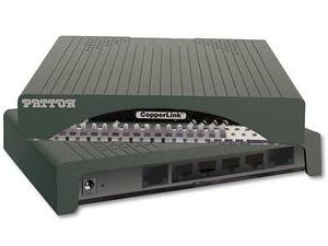 Patton CL2302/4ETH/EUI-2PK CopperLink 2-4 Wire Ethernet Extender Kit/4x 10/100 100-240VAC
