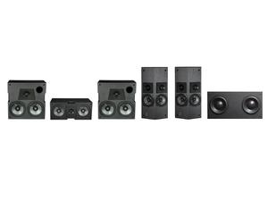 Phase Technology DP2051 CB KIT dARTS 660 Series-Custom Box (5.1) Speaker Kit