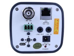 PTZOptics PT12X-NDI-ZCAM 12x 1080p NDI/HX HD-SDI Box Camera/3.5mm-42.3mm Lens/White