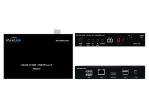 PureLink VIP-300H-U Rx UltraHD 4K HDMI and USB/KM over IP Receiver (Decoder) with PoE