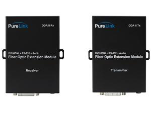 PureLink ODA II Tx/Rx DVI  Audio/RS-232 over 2 LC Fiber Extender (Transmitter/Receiver) Kit