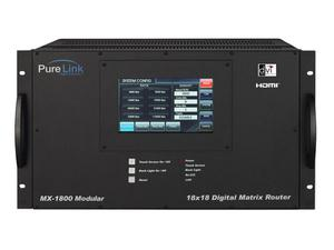 PureLink mx-1800 18x18 Modular Type Digital Matrix Router mx-1800