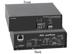 RDL SF-NP50A Network to 50 W Mono Audio Amplifier/70 or 100 V
