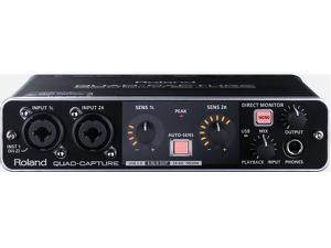 Roland UA-55 Quad-Capture USB 2.0 Audio Interface for REAC Recording
