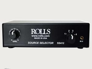 Rolls SS412 4x1 Completely Passive RCA Source Selector