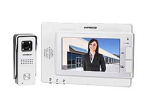 SECO-LARM DP-234Q Hands-Free Color Video Door Phone with 4.5mm CCD Camera and 6.75-inch TFT Display
