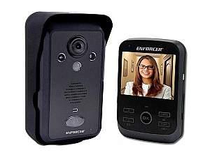 SECO-LARM DP-266-1C3Q Wireless Color Video Door Phone with Range up to 492ft (150m)
