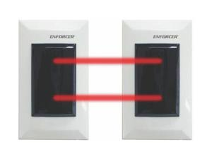 SECO-LARM E-932-D33TBQ Photoelectric Beam Sensors - Dual Through-Beam/33ft