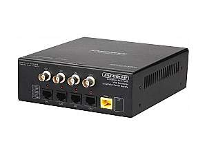 SECO-LARM EB-C304-01EQ 4 Channel HD Video/Power/Data Active Endpoint Combiner