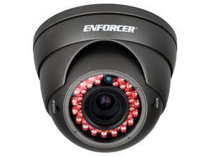 SECO-LARM EV-Y2201-AMGQ 4-in-1 HD TVI/CVI/AHD/Analog Rollerbal IR Varifocal Camera/2.8-12mm lens/Gray