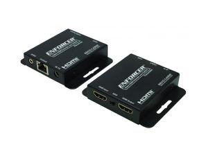 SECO-LARM MVE-AH1E1-01NQ HDMI Extender (Transmitter/Receiver) Kit over Single Cat5e/6 up to 164ft (50m)