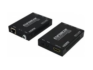 SECO-LARM MVE-AH1E1-41NQ 4K HDMI Extender (Transmitter/Receiver) over Single Cat5e/6 up to 164ft (50m)