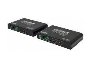 SECO-LARM MVE-AH1T1-01YQ HDMI Extender (Transmitter/Receiver) over Two Wires up to 984ft (300m)