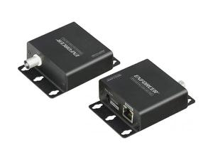 SECO-LARM NE-AE01-030TQ Ethernet Transceiver Kit over Coax with PoE