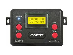SECO-LARM SA-027HQ 365-Day Annual Timer with Two Relay Outputs with Housing