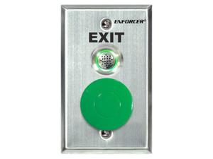 SECO-LARM SD-7217-GSBQ Request-to-Exit Wall Plate with Dual-Color LED and Buzzer