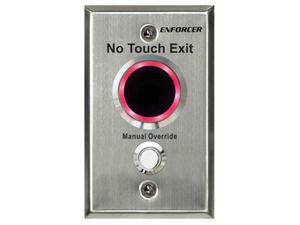 SECO-LARM SD-9263-KSVQ No Touch RTE Plate with Adjustable Delay Timer and Override Button/Outdoor Use/Single-gang