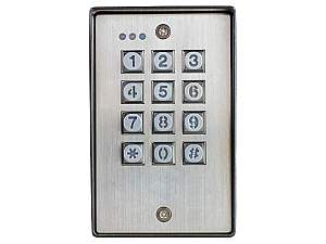 SECO-LARM SK-1123-SDQ Surface-Mount Vandal Resistant Outdoor Access Control Keypad