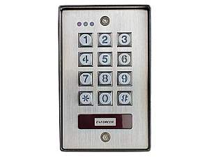 SECO-LARM SK-1123-SPQ Vandal Resistant Outdoor Access Control Keypad with Proximity Reader