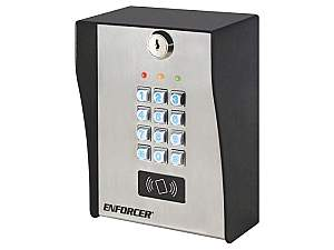 SECO-LARM SK-3133-PPQ Heavy-Duty Outdoor Access Control Keypad with Proximity Reader