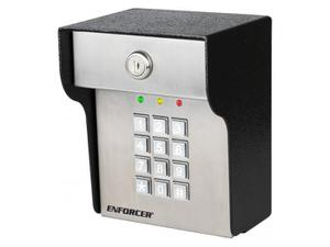 SECO-LARM SK-3523-SDQ Heavy Duty/Vandal-resistant/Outdoor Illuminated Stand-Alone Access Control Keypad
