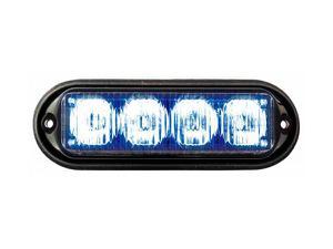 SECO-LARM SL-1311-MA/B 12VDC High-Intensity LED Programmable Modular Flasher/Blue