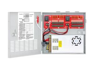 SECO-LARM PC-U1820-PULQ 12VDC Switching CCTV Power Supply/18 Outputs/20A total