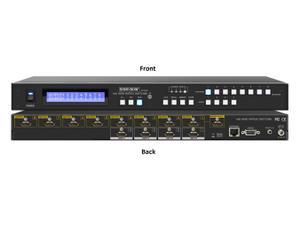 Shinybow SB-5648K 4x8 UHD 4K2K/30Hz HDMI Matrix Routing with Full EDID Management/Learning