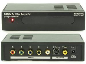 Shinybow SB-3682 RGBHV to S-Video / Composite Video Transcoder
