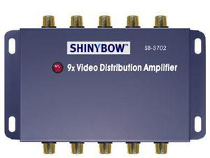 Shinybow SB-3702 1x9 Composite Video Splitter