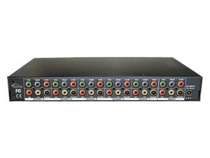 Shinybow SB-3730-1000 1:5 COMPONENT VIDEO   DIGITAL/ANALOG AUDIO AMPLIFIER SPLITTER