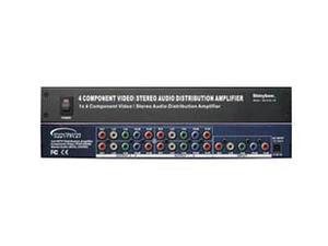 Shinybow SB-3730-700 1x4 Component Video(YPbPr)/Audio Splitter
