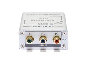 Shinybow SB-6130T CAT5 - COMPONENT VIDEO (YPbPr) HDTV Extender (Transmitter)