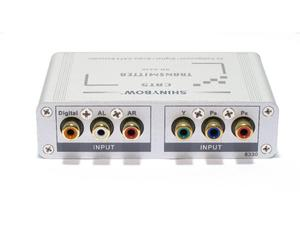 Shinybow SB-6330T Cat5 Component Video Digital and Stereo Audio Extender (Transmitter)