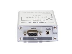 Shinybow SB-6110TR Transmitter   Receiver VGA Extender