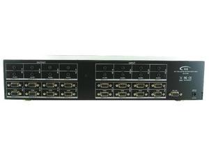 Shinybow SB-8188 8x8 VGA   Audio Matrix Switcher w/RS-232 and IR Remote