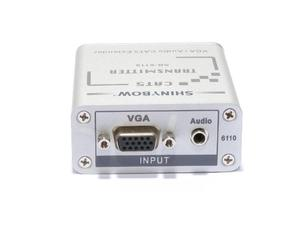 Shinybow SB-6110T CAT5 - VGA RGBHV - Stereo Audio Extender (Transmitter)