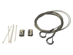 Soundtube AC-RS-HH-10 10 ft hanging-safety cable/2 SpeedClamps for RSi series