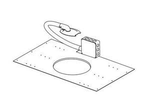 Soundtube AC-CM-EZ-JBOX Junction box for IW31-EZ with hardwire lead and flex conduit