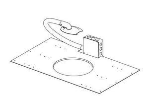 Soundtube AC-CM-JBOX Junction Box w hardwire lead/flex conduit/EuroBlock connect
