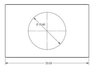 Soundtube AC-CMEZ6/8-TB Tile bridge for IP-CM62-BGM and IP-CM82-BGM