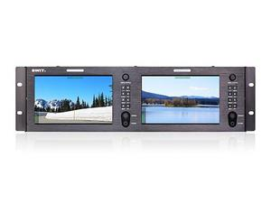 SWIT M-1073H Dual 7-inch FHD Rack LCD Monitor