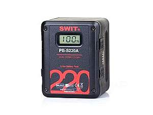 SWIT PB-S220A 220Wh Multi-sockets Square Digital Battery Pack/Gold-mount