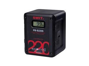 SWIT PB-S220S 220Wh Multi-sockets Square Digital Battery Pack/V-mount