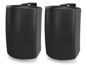 Tannoy AMS 6ICT LZ 6 inch ICT Surface-Mount Low Impedance Loudspeaker for Installation Applications/Black/Pair