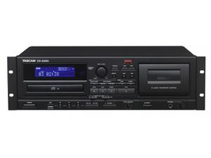 TASCAM CD-A580 Combo CD Player/Cassette Recorder/USB Recorder