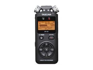 TASCAM DR-05 24-bit/96kHz Digital Recorder with Omnidirectional Microphones