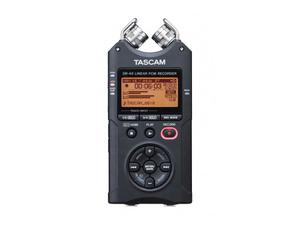 TASCAM DR-40 4-Channel 96kHz/24-bit Digital Recorder with XLR Inputs and Adjustable Mics