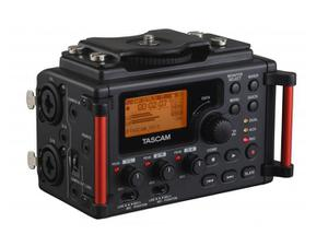 TASCAM DR-60DmkII 4-track Portable Recorder for DSLR with Two XLR mic inputs/phantom power